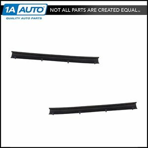 Rear Lower Door Weather Strip Seal Pair Lh Rh For Ford F250 F350 Super Duty