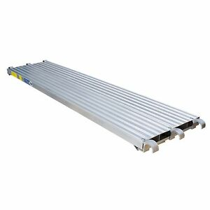 All Aluminum Scaffold Deck Walkboard 10 Ft Plank Construction Equipment