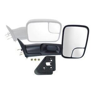 Towing Mirror For 1994 2001 Dodge Ram 1500 1994 2002 Ram 2500 3500 Front Right