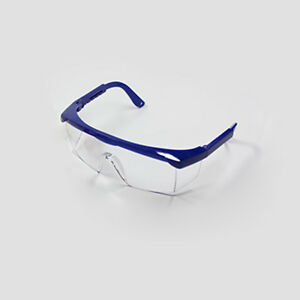 12pcs Dental Anti fog Safety Glasses Protective Eye Goggles Blue Frame Home
