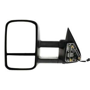 Towing Mirror Heated Chevy Yukon Suburban Avalanche Left Hand Side Driver Lh Gmc