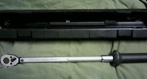 Hazet Tools 6127 ct Torque Wrench 1 2 Drive 20 200 Ft lbs Made In West Germany