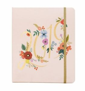 Rifle Paper Co 17 Month Agenda Bouquet Large Planner Organizer Monthly Weekly