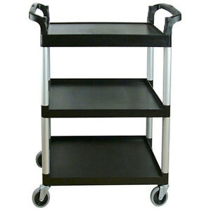 Cambro Black Knock Down Bus Cart