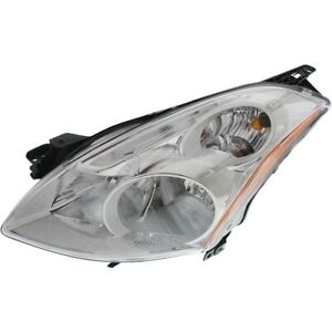 Headlight For 2010 2011 2012 Nissan Altima Sl S Sr Models Left Hid