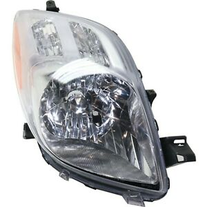Headlight For 2007 2008 Toyota Yaris Hatchback Right Clear Lens