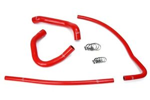 Hps Red Silicone Radiator Heater Hose Kit Coolant Oem Replacement 57 1690 Red