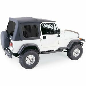 Rampage 68035 Soft Top For 1987 1995 Jeep Wrangler yj