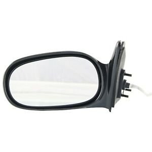 Side View Door Mirror Power Driver Side Lh Left Hand For 98 02 Toyota Corolla