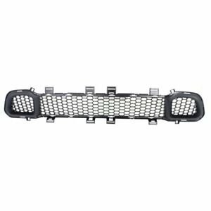 Front Bumper Grille For 14 18 Jeep Cherokee W o Cruise Ctrl Excl trailhawk Capa
