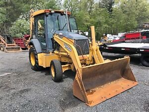 01 John Deere 310 Sg Backhoe Loader 2568 Hrs 91 Hp Diesel Ride Control