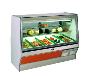 Marc Refrigeration Sf 8 S c Display Case Red Meat Deli