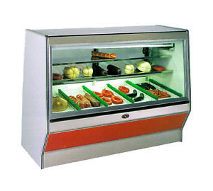 Marc Refrigeration Sf 6r Display Case Red Meat Deli
