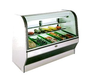Marc Refrigeration Hs 4r Display Case Red Meat Deli