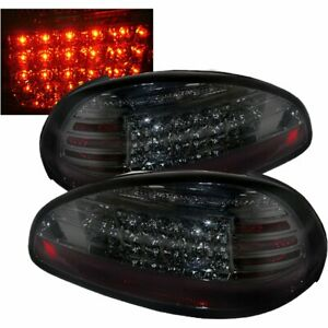 Spyder 5007179 Led Tail Light For 1997 03 Pontiac Grand Prix Smoked W Bulbs 2pcs