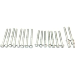 New Cylinder Head Bolts Set Of 17 For Chevy Olds Cutlass Chevrolet Impala Buick