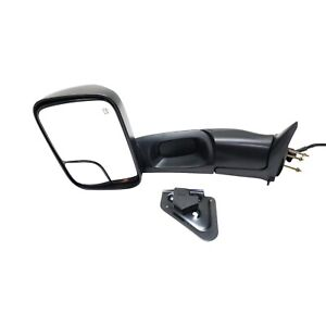 Power Towing Mirror For 1998 2001 Dodge Ram 1500 Left Heated Folding W Bracket