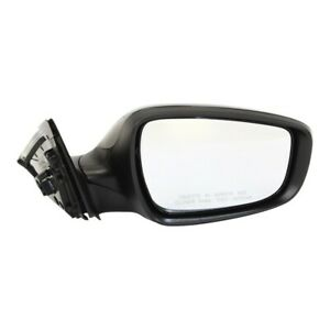 Powe Mirror For 2012 2016 Hyundai Veloster Passenger Side Heated Paintable