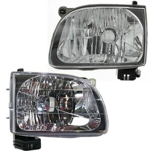 Headlight Set For 2001 2004 Toyota Tacoma Left And Right With Bulb Capa 2pc