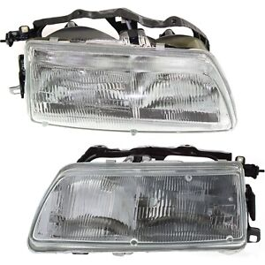 Headlight For 90 91 Honda Civic Dx Lx Si Rt 4wd Ex Cx Crx Si Hf Left And Right