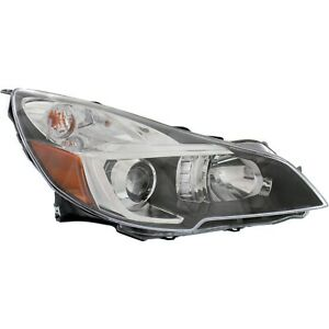 Headlight For 2013 2014 Subaru Outback Right With Bulb And Wiring Harness