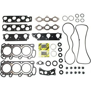 Head Gasket Mls Set Fits Acura Cl Honda Accord 3 0l Vtec Sohc 24 Valve J30a1