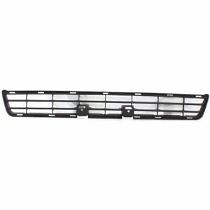 Bumper Grille For 2008 2009 Toyota 4runner Center Textured Gray Plastic