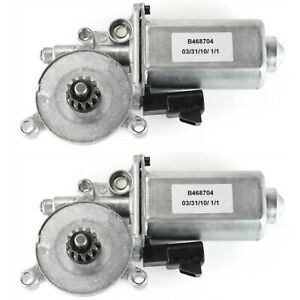 Window Motor For 1997 03 Pontiac Grand Prix W 12 tooth Gear Right Side Set Of 2