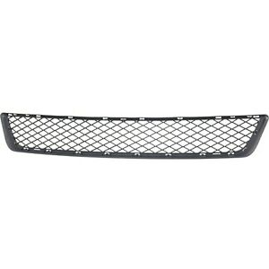 Bumper Grille For 2011 2013 Bmw X5 Lower Textured Black Plastic