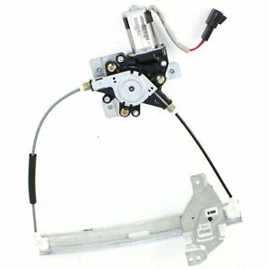 Power Window Regulator For 2000 2005 Chevy Impala Rear Right With Motor
