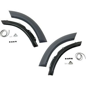 Fender Trim Set For 2001 2005 Toyota Rav4 Rear Left Right Front Section 2pc