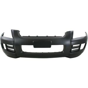 Front Bumper For 2005 2010 Kia Sportage W O Luxury Pkg W Bar Type Grille Capa