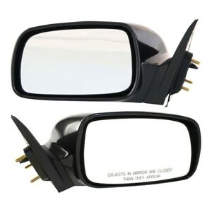 Power Mirror Pair For 2007 2011 Toyota Camry Usa Left And Right Built Primed