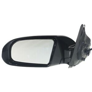 Side View Mirror Power Gloss Black Driver Left Lh For 09 14 Nissan Maxima