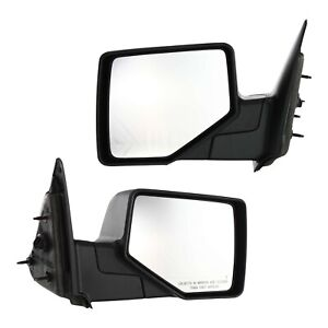 06 11 Ford Ranger Pickup Truck Set Of Side View Manual Textured Mirrors