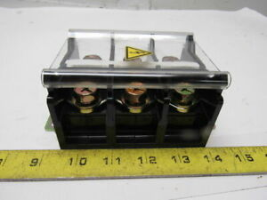Idec Bn200bw 600v 3 Pole 200a 4 0 Awg Contact Block