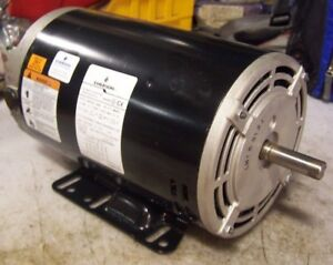 New Emerson 3 Hp Air Compressor Pump Motor 200 240 480 Vac 3450 2850 Rpm