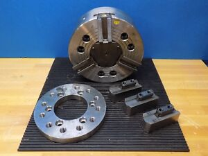 Atlas Hydraulic Power Lathe Chuck 3 jaw 10 Diameter A2 6 Mount Atl10 a6 Repair