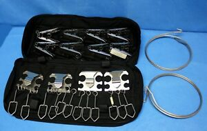 Austmel 27 Piece Collie Clip Emt First Responder Set Stainless Steel Collieclip
