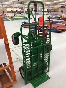 Granite Ind Overland Multi Mover Xt Electric Powered Hand Truck W Turf Tires