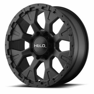 16 Helo He878 Black Wheel 16x9 5x4 5 12mm Lifted Ford Ranger Jeep Wrangler Rim
