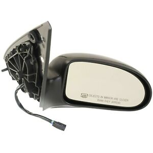Power Mirror For 2003 2007 Ford Focus Front Passenger Side Heated Textured Black