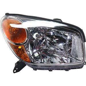 Headlight For 2004 2005 Toyota Rav4 Right With Socket And Wiring