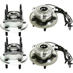 Wheel Hub For 2005 2010 Jeep Grand Cherokee Front And Rear Left And Right Side