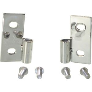 Door Hinges Set Of 2 Driver And Passenger Side Lh Rh For Jeep Wrangler Cj7 Pair