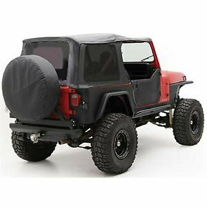 Smittybilt New Soft Top Black Jeep Wrangler 1987 1995