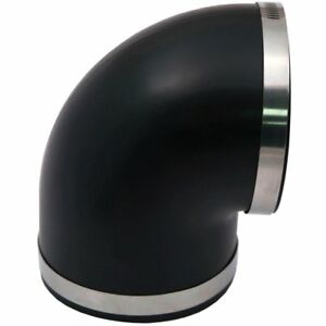 Spectre 9781 Air Intake Tubing Coupler Black May Require Minor Modification
