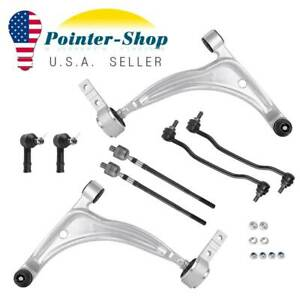 8pc Front Suspension Control Arm Kit For 2004 2005 2006 2007 2008 Nissan Maxima