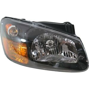 Headlight For 2007 2008 2009 Kia Spectra5 Right Clear Lens With Bulb