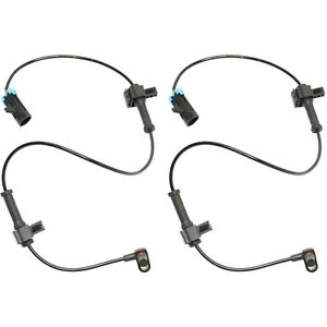 Abs Speed Sensor For 2007 2013 Chevrolet Silverado 1500 Rear Left And Right Side